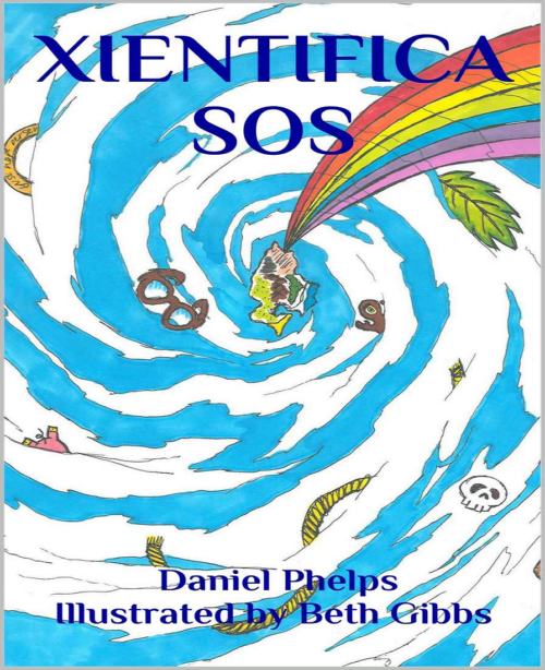 xientifca sos adventure children's book cover